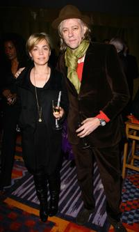 Bob Geldof and Guest at the Afrika Afrika show.