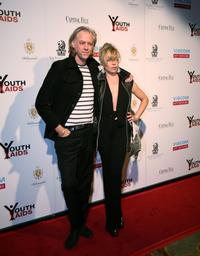 Bob Geldof and Jeanne Marie at the 2008 YouthAIDS Gala.