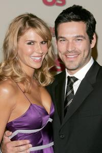 Brandi and her husband Eddie Cibrian at the Us Weekly and Rolling Stone Oscar Party.