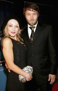 Susie Porter and Joel Edgerton at the 2006 IF Awards media launch.