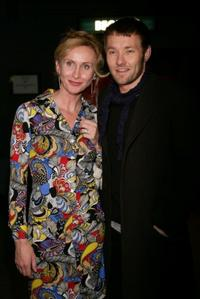Natasha Herbert and Joel Edgerton at the after party of the Melbourne opening night of
