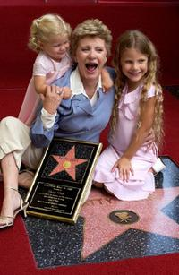 Patty Duke and granddaughters Elizabeth and Alexandra Astin at the ceremony honoring Duke with a star on the Hollywood Walk of Fame.