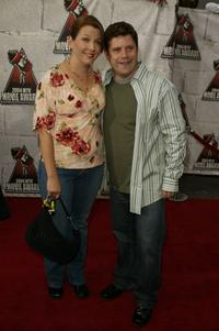 Sean Astin and wife Christine at the 2004 MTV Movie Awards.