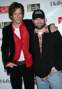 Sean Astin and Kevin Bacon at the 2005 Sundance Film Festival, attend the 2005 Ray Ban Visionary Award Hollywood Life After Party.