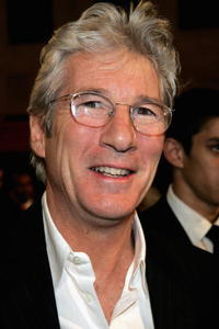 Richard Gere at the Madinat Theatre in Dubai, United Arab Emirates.