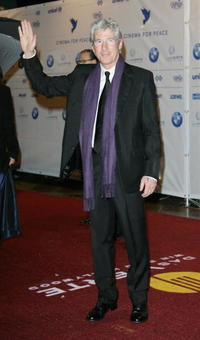Richard Gere at the Cinema for Peace Charity Gala in Berlin, Germany.