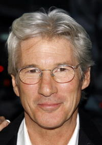 "Richard Gere at a special screening of ""The Hoax"" in Los Angeles."