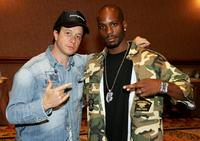 Pauly Shore and DMX at the International Pool Tour World 8-Ball Championship.