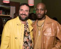 Joel Silver and DMX at the premiere of