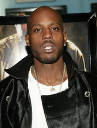 DMX at the New York premiere of