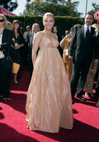 Hayden Panettiere at the 59th Annual Primetime Emmy Awards in Los Angeles.