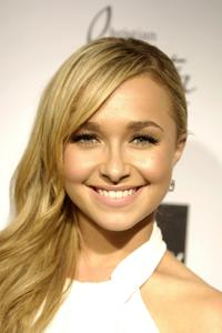 Hayden Panettiere at the Saks Fifth Avenue cocktail party welcoming Christian Louboutin to the West Coast in Hollywood, California.