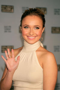 Hayden Panettiere at the 65th annual Golden Globe Awards nominations announcement in Los Angeles, California.