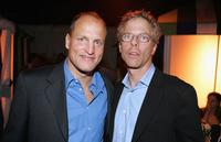 Woody Harrelson and Greg Germann at the Los Angeles Film Festival Spirit Of Independence Award Ceremony.