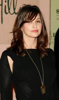 Gina Gershon at the Sony/BMG Grammy party held at the Beverly Hills Hotel.