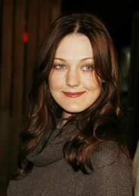 Azura Skye at the special screening of