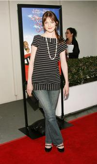 Azura Skye at the premiere of