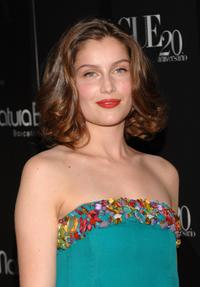 Laetitia Casta at the Vogue Magazine 20th anniversary party.