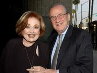 Edie Adams and Larry Gelbart at a tribute to the late director Billy Wilder.