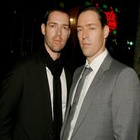 Michael Polish and Mark Polish at the premiere of