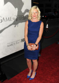 Kate Ashfield at the California premiere of