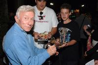 Henry Gibson at the post party following a live reading of the screenplay