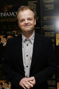 Toby Jones at the UK premiere of
