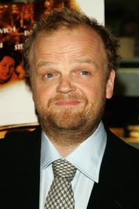 Toby Jones at the premiere of