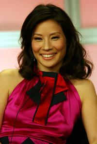Lucy Liu at the 2007 Summer TCA Tour.