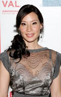 Lucy Liu at the 2007 Tribeca Film Festival for the premiere of