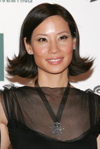 Lucy Liu at the 3rd Annual Women's World Awards.