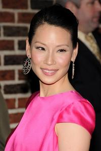 Lucy Liu at the