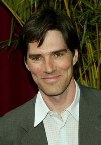 Thomas Gibson at the CBS upfront.
