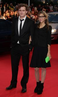 Jean-Paul Rouve and Guest at the screening of