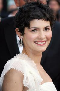 Audrey Tautou at the opening ceremony of 59th edition of the International Cannes Film Festival.
