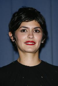 Audrey Tautou at the premiere of