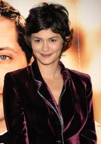 Audrey Tautou at the photocall for