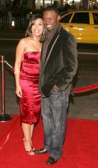 Sean Patrick Thomas and wife Aonika Laurent at the AFI FEST 2006 for premiere of