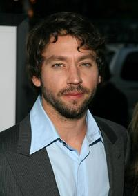 Michael Weston at the premiere of