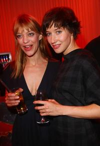 Heike Makatsch and Johanna Wokalek at the after party of the Berlin premiere of