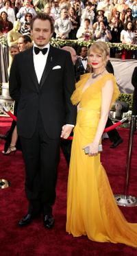 Heath Ledger and Michelle Williams at the 78th Annual Academy Awards in Hollywood.