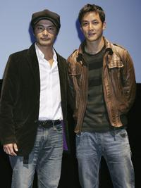 Andrew Lin and Daniel Wu at the screening of