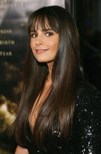 Jordana Brewster at the premiere of
