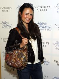 Jordana Brewster at the Frederic Fekkai and Victoria's Secret