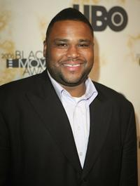 Anthony Anderson at the Black Movie Awards HBO after party.