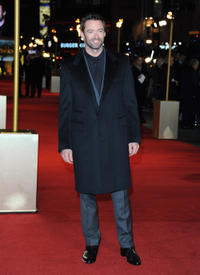 Hugh Jackman at the world premiere of