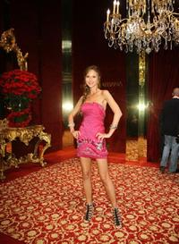Svetlana Metkina at the Dolce and Gabbana party during the 61st International Cannes Film Festival.