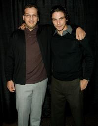 Victor Huggo Martin and Maurice Compte at the world premiere screening of
