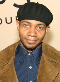 DJ Spooky at the Art Auction to Benefit Downtown for Democracy at Phillips.