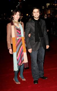 Meg and Jimi Mistry at the world premiere of
